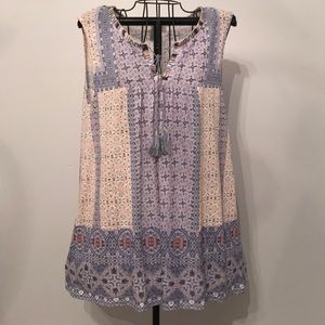 VINTAGE AMERICA tunic with tassels